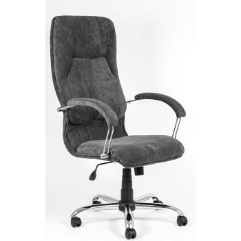 Офисное кресло для руководителя Никосия chrome
