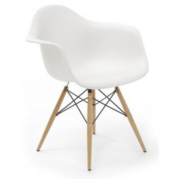 Кресло Eames armchair wood white