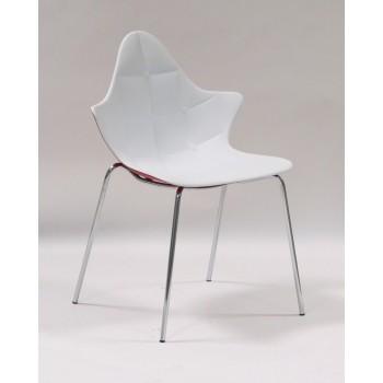 Кресло Stella white-red