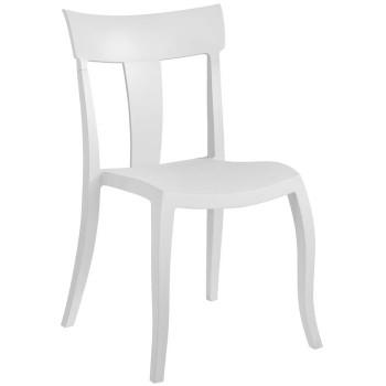 Пластиковый стул Toro-S white