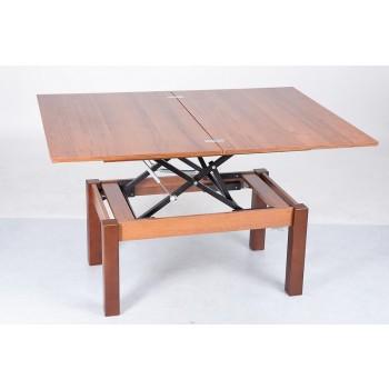 Журнальный-обеденный стол-трансформер Флай орех Эко