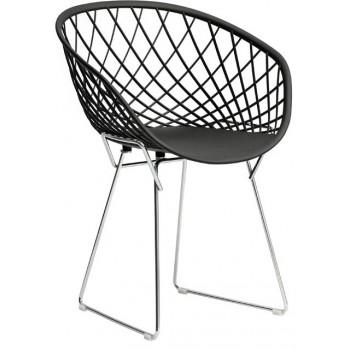 Кресло Sidera chrome black