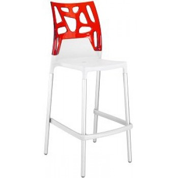 Барный стул Ego-Rock Bar01 red