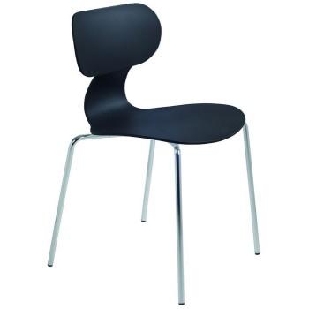 Пластиковый стул Yugo-S black