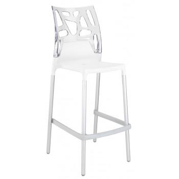 Барный пластиковый стул Ego-Rock Bar01 trasparente