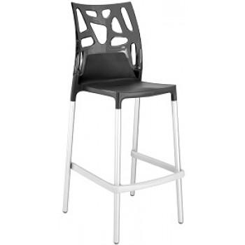 Барный пластиковый стул Ego-Rock Bar09 antracite