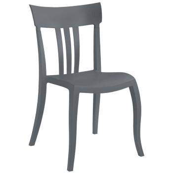 Пластиковый стул Trio-S antracite