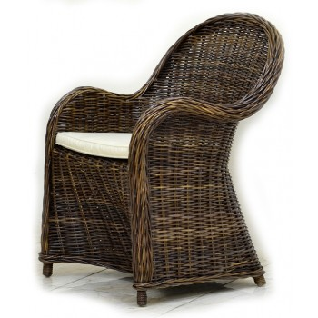 Кресло Seyshella brown