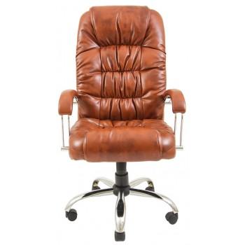 Офисное кресло для руководителя Ричард хром