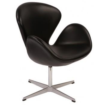 Кресло Swan black CA