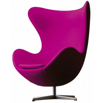 Кресло Egg pink wool