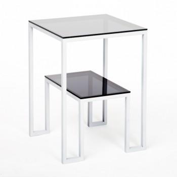 Столик прикроватный Альмео gray
