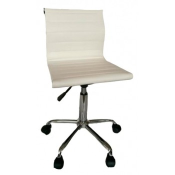 Кресло HY 505-MR white PU