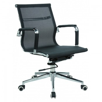 Кресло Solano 3 mesh black