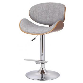 Барный стул Florida grey fabric