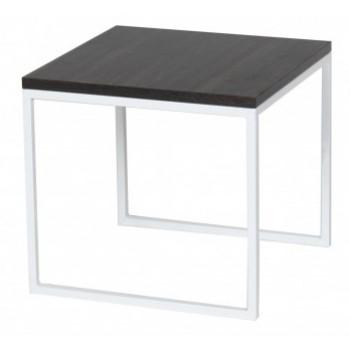 Журнальный стол DROM54-WH/BR