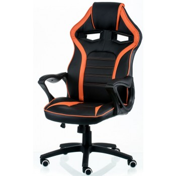 Кресло Game black/orange