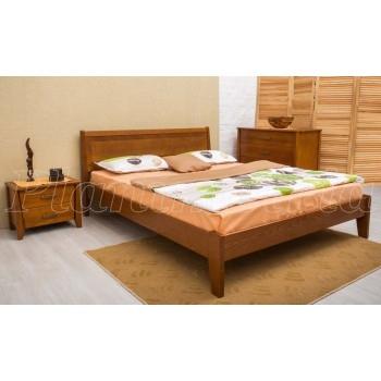 Кровать Сити 1600 без изножья интарсия
