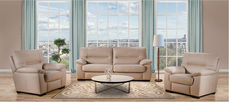 комплект мебели шеннон Shannon бежевый диван и 2 кресла