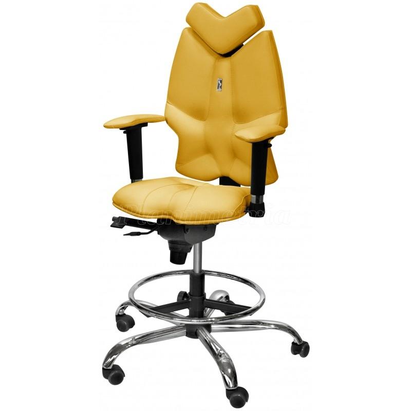 Цена детского стула - радость Вашего ребёнка. . Хромированная крестовина и обивка из экокожи - наверное