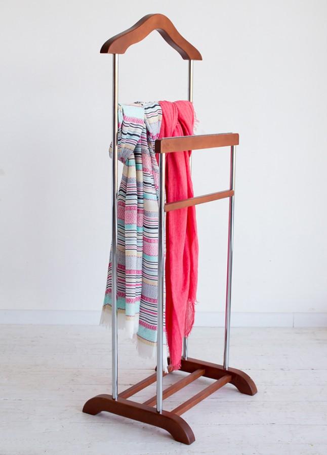 Вешалка под плечики для одежды напольная