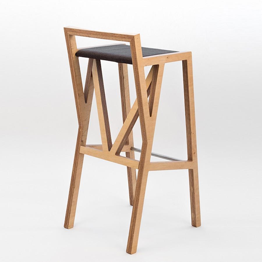 Как своими руками сделать барные стулья 56