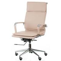 Офисное кресло для руководителя Solano 4 artleather beige (Солано 4 арткожа бежевое)