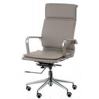 Офисное кресло для руководителя Solano 4 artleather grey (Солано 4 арткожа серое)