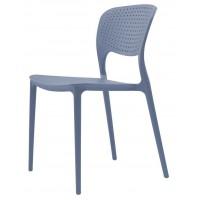 Пластиковый стул Spark blue (Спарк голубой)