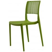 Пластиковый стул Grace green (Грейс зеленый)