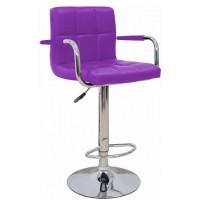 Высокий барный стул HY 356-3A purple (HY 356-3А фиолетовый)