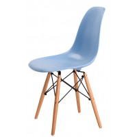 Барный стул Tower wood light blue (Тауэр вуд голубой)