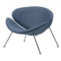Кресло для дома Foster blue sky (Фостер текстиль голубое небо)