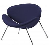 Кресло для дома Foster indigo (Фостер шерсть индиго)
