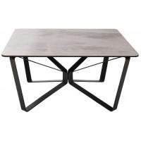 Стол журнальный Luton керамика (Лутон светло-серый глянец)  895х895