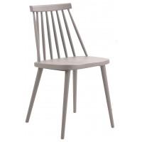 Пластиковый стул Night grey