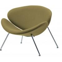 Кресло для дома Foster green (Фостер шерсть зеленое)