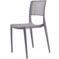 Пластиковый стул Grace grey (Грейс серый)