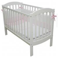 Детская кроватка-трансформер Соня ЛД10 белая