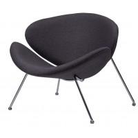 Барное кресло Foster graphite (Фостер текстиль серый графит)