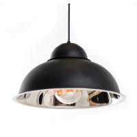 Подвесной светильник Bell (Бел)  черный/сталь