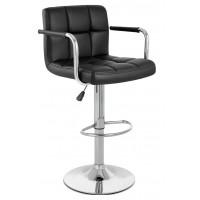 Высокий барный стул HY 356-3A  black (HY 356-3А  черный)