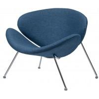 Барное кресло Foster ocean blue (Фостер текстиль синий океан)