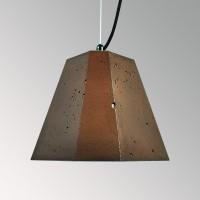 Потолочный подвесной светильник Трего коричневый