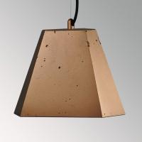 Потолочный подвесной светильник Трего премиум медь