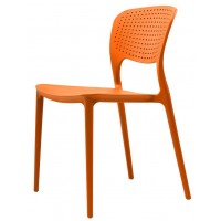 Пластиковый стул Spark orange (Спарк оранжевый)