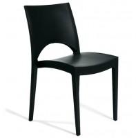 Барный пластиковый стул Paris antracite (Париж антрацит)
