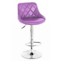 Барный стул высокий HY 372 purple (HY 372 фиолетовый)