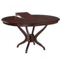 Круглый стол для гостиной венге