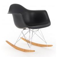 Кресло-качалка Paris R black (Пэрис R черное)